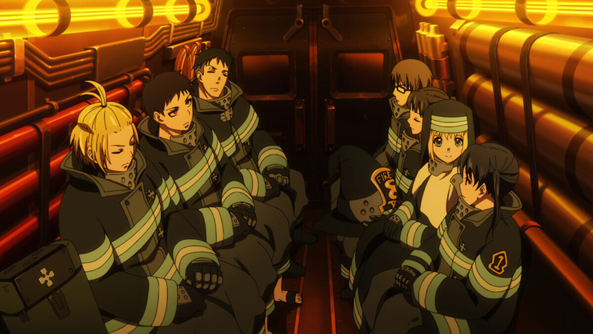「炎炎ノ消防隊」はプライムビデオで見れる?【第2期配信中】